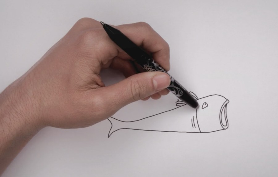 Hand-drawn animation