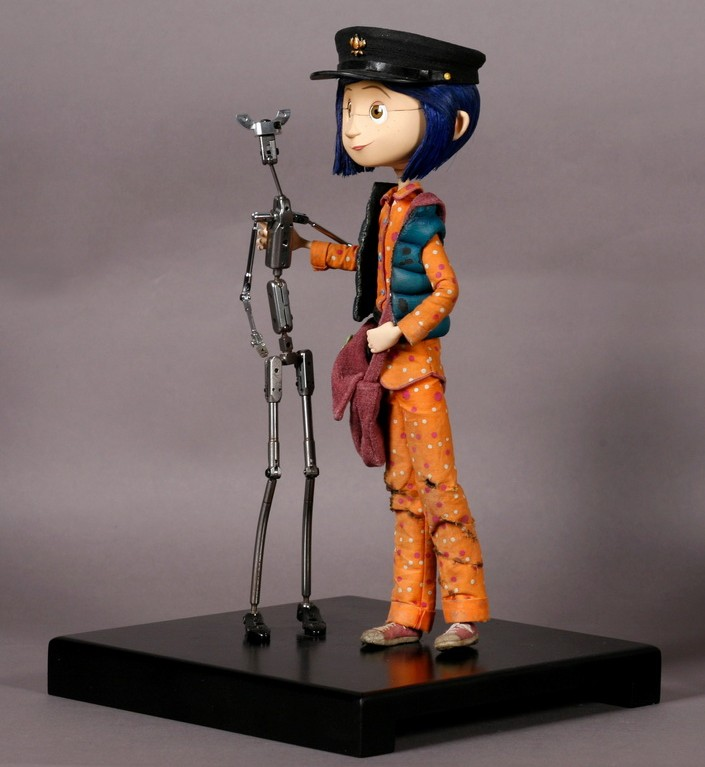 Coraline model with armature