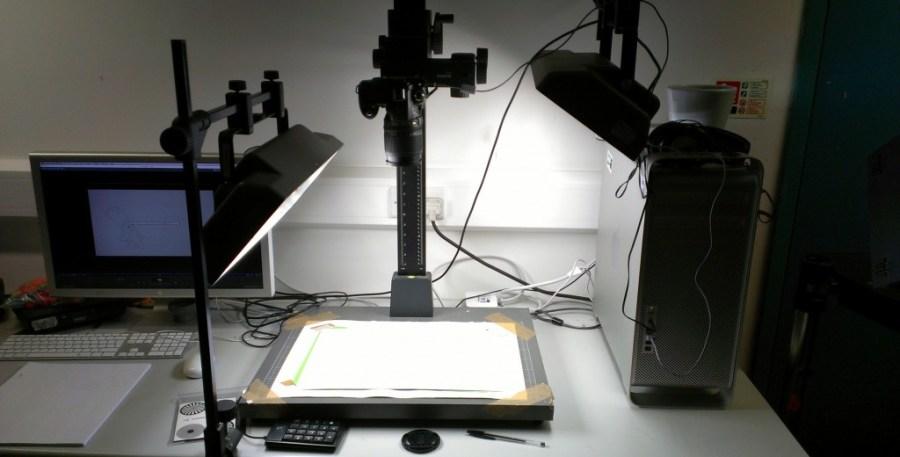 Rostrum camera support