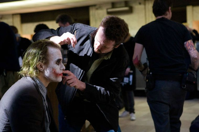 Heath Ledger Behind The Scenes The Dark Knight