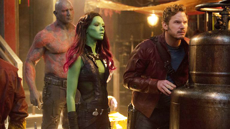 Guardians Of The Galaxy Vol 2 Gamora Drax Drake