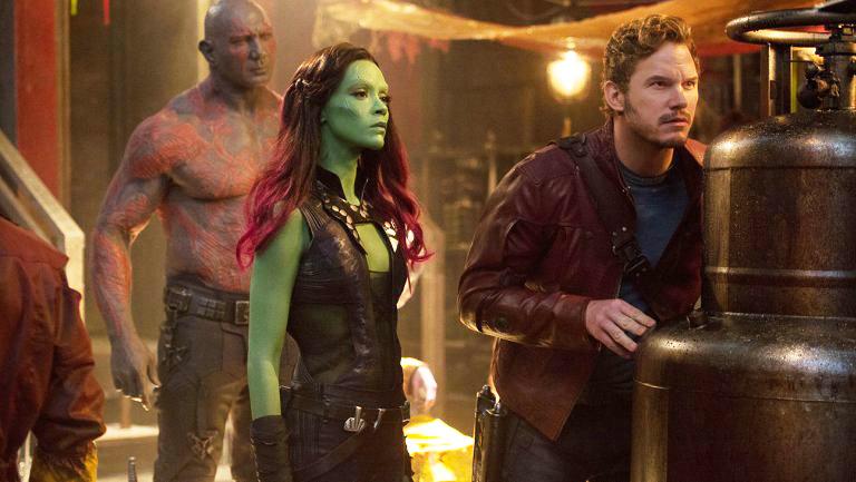 Guardians Of The Galaxy Vol 2 Gamora Drax Drake