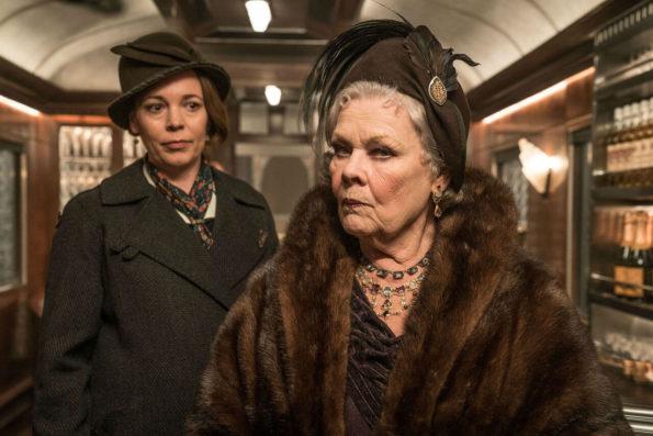 Judi Dench Olivia Colman Murder on the Orient Express