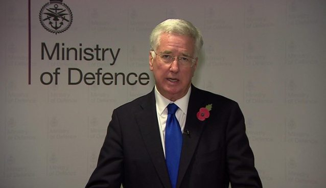 Michael Fallon Resignation