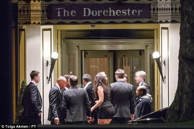 Presidents Club Gala The Dorchester