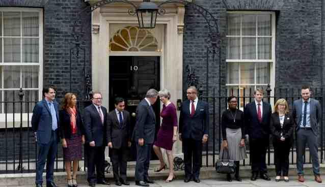 Theresa May Cabinet Reshuffle