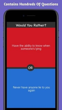 What would you choose app