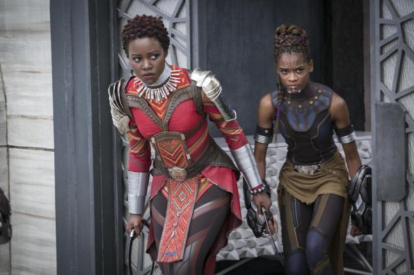 Lupita Nyong'o Letitia Wright Black Panther