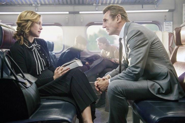 Vera Farmiga Liam Neeson The Commuter