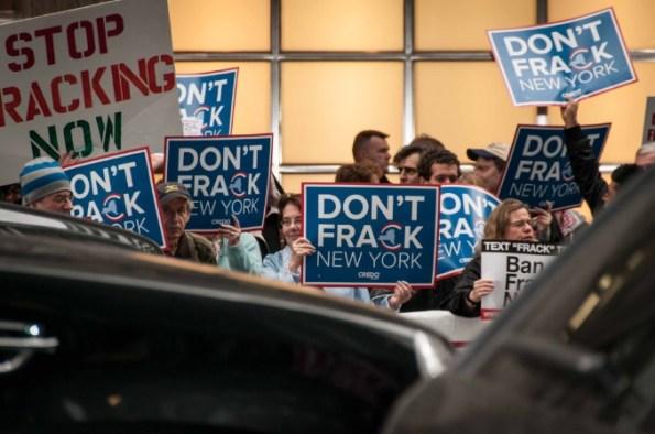 Fracking Protests New York