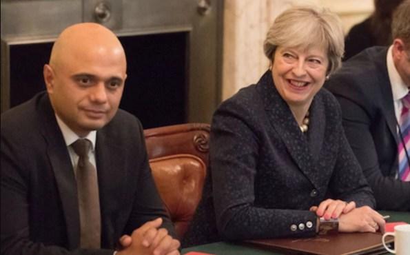 Theresa-May-Sajid-David