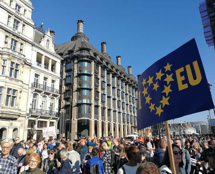 Peoples Vote March Anti Brexit October 2018