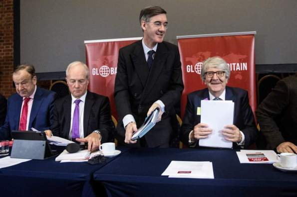Jacob Rees Mogg European Research Group
