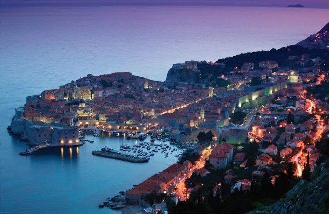 Dalmatian Islands Night Croatia
