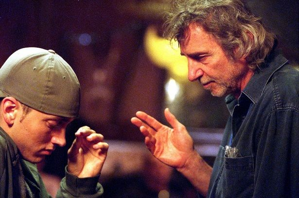 Curtis Hanson and Eminem in 8 Mile