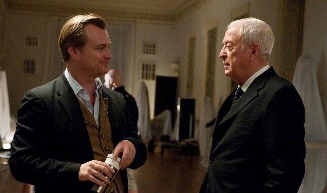 Christopher Nolan & Michael Caine