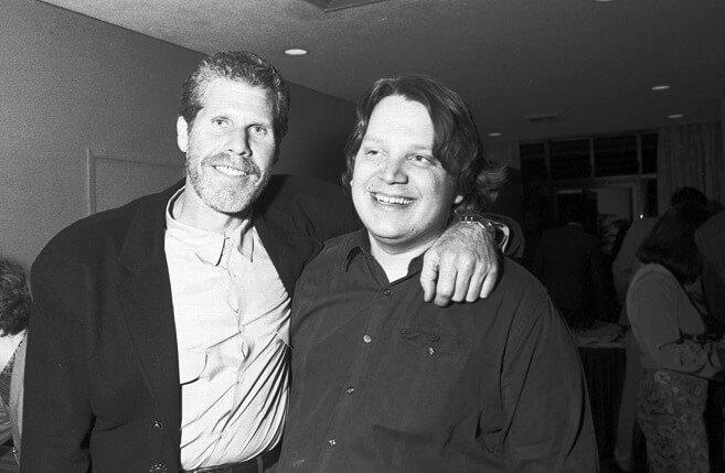 Guillermo Del Toro & Ron Perlman
