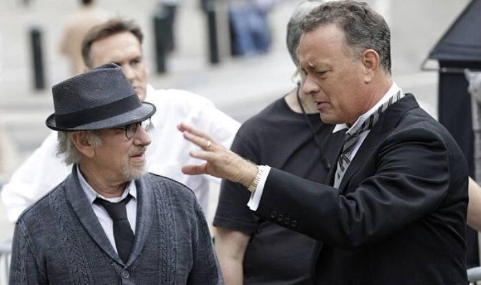 Steven Spielberg & Tom Hanks