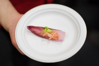 Red Endive Cups @ Anella
