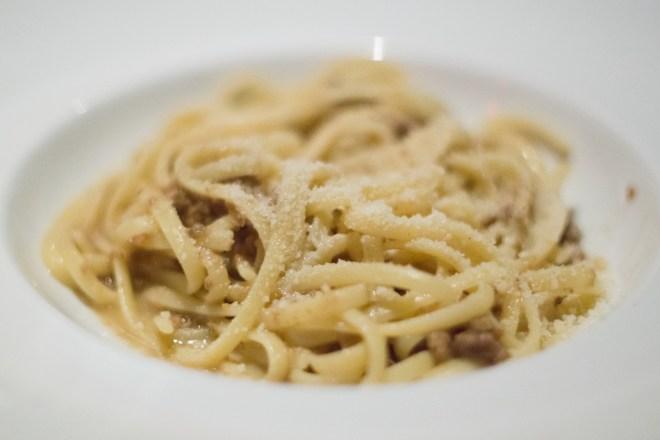 Reginette Al Ragu Bolognese Bianco - Lincoln RIstorante