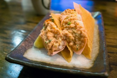 Spicy Tuna Taco - Lucky Cat
