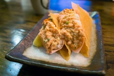 Spicy Tuna Taco - Lucky Cat