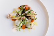 Lobster Marinated with Truffles - The Modern