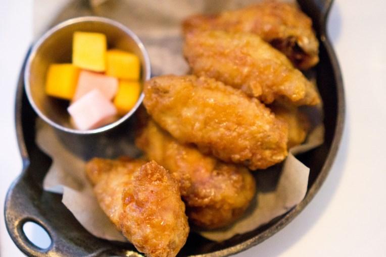 Korean Chicken Wings - Barn Joo