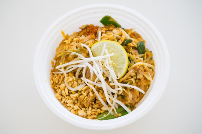 Chicken Pad Thai - Rhong-Tiam Food Truck