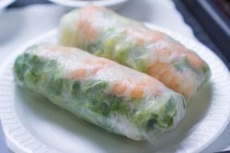 Summer Rolls - Luu's Baguette
