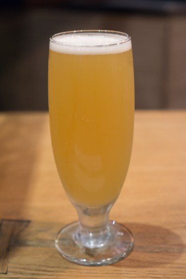 pineapple beer - ootoya chelsea