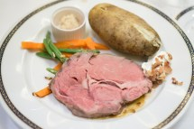 Prime Rib and Potato - Westerdam Cruise
