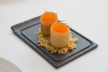 Salmon Croustilliant with Trout Roe - The Modern