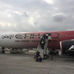 Etihad pilot dies mid flight