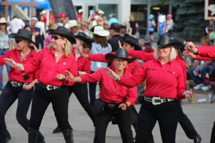 Calgary Stampede Dancers