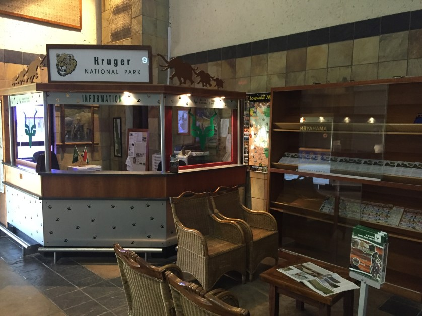 Kruger Park information booth