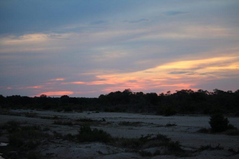 Sunset at Kruger Park