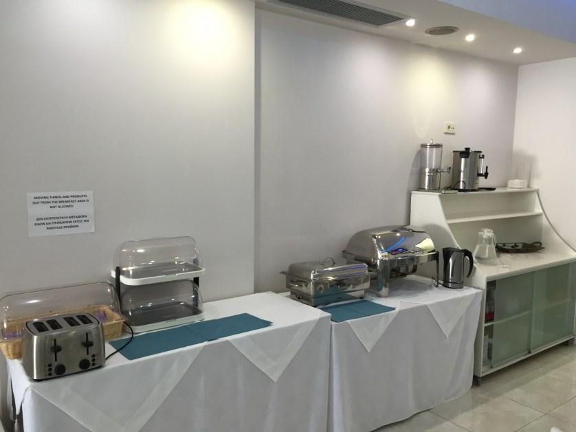 Parga Princess Breakfast Area