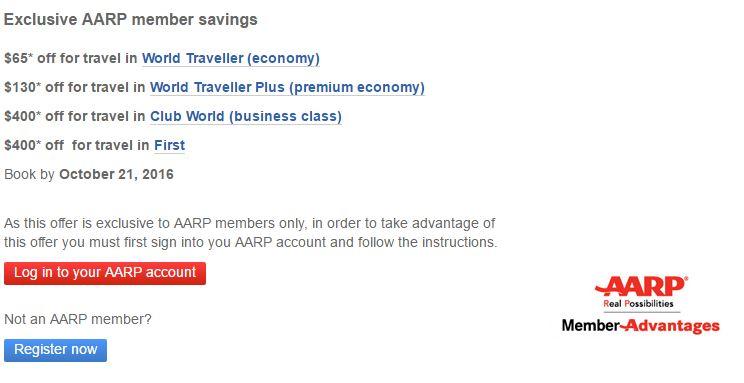 AARP's New Old Discount