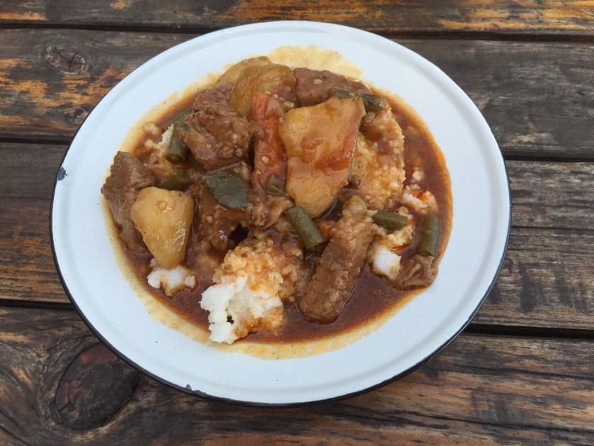 Potjiekos, Beef Stew