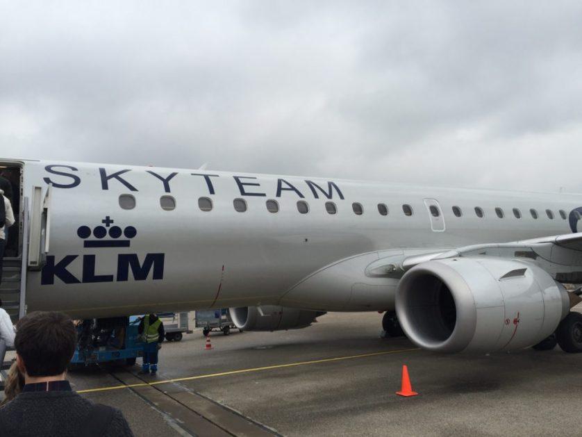 KLM Cityhopper to Bilbao