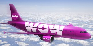 Wow Air, courtesy of WOW AIR
