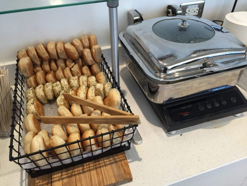 Bread and hot options