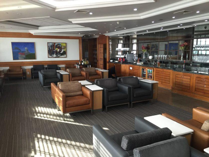Santiago Chile lounge Admiral's Club
