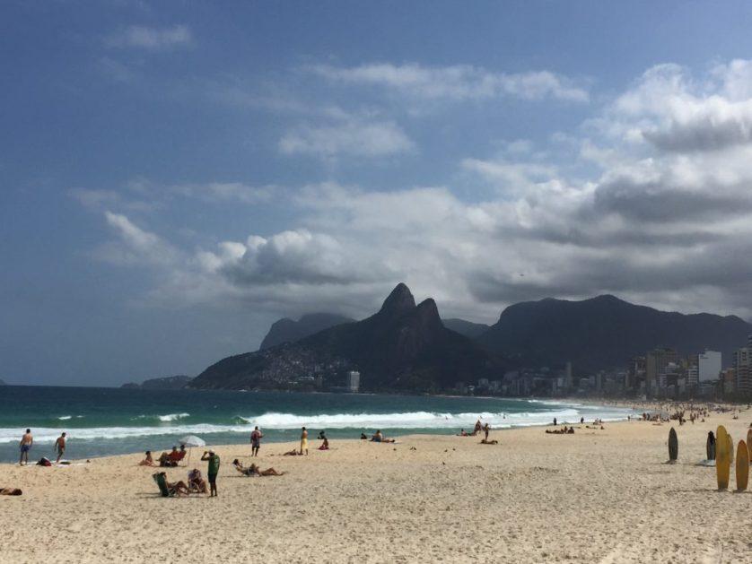 Rio Ipanema beach views
