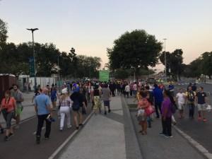 Rio 2016 Opening Ceremony Lines