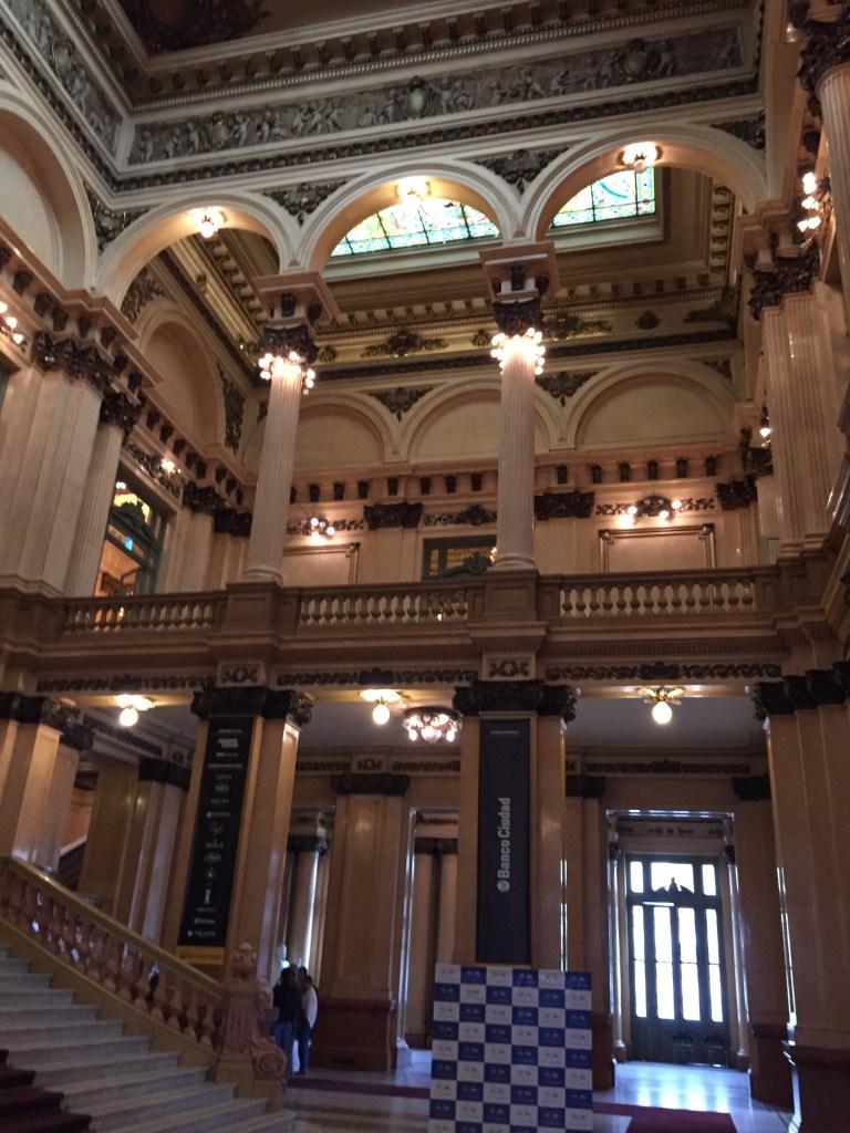 Main lobby of Teatro Colon