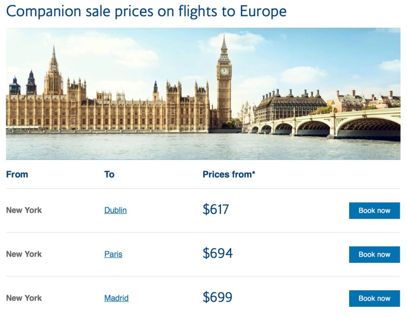 Companion Sale British