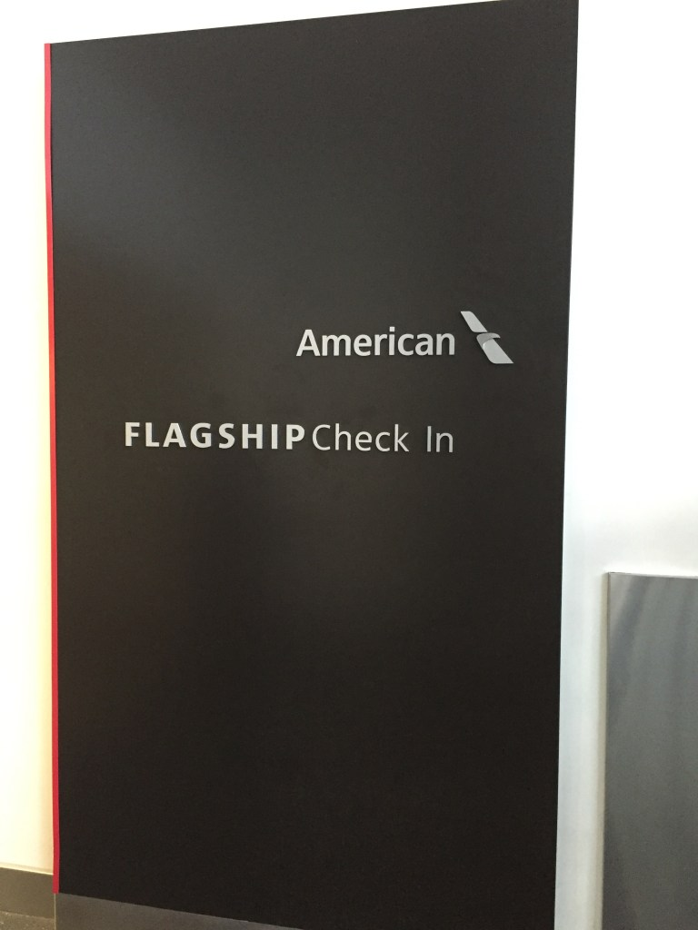 American Flagship Check in