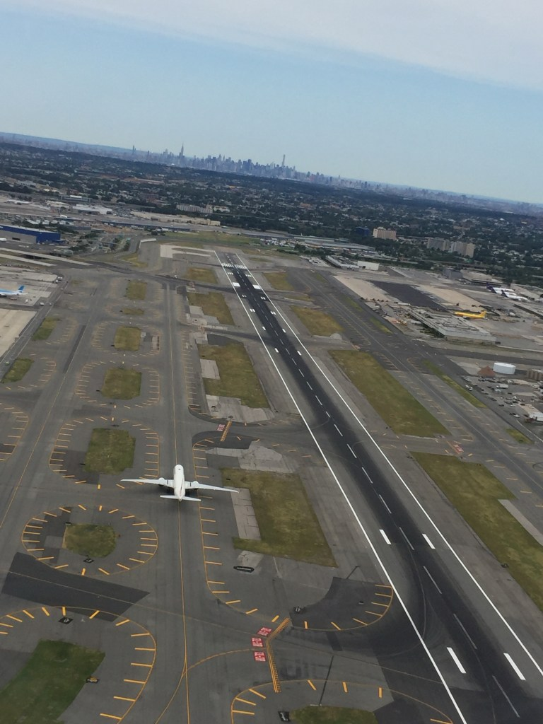 Take off from JFK